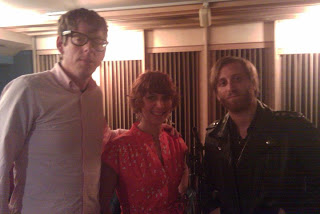 The Black Keys at Threshold Recording Studios NYC