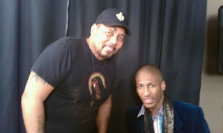 Aaron Neville at Threshold Recording Studios NYC