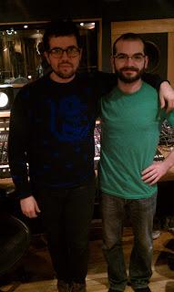 Freelance Whales Judah Dadone & Producer Jeremy Sklarsky