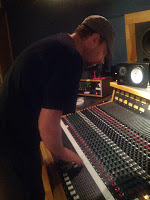 Dave Eggar at Threshold Recording Studios NYC