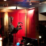 Michael Douglas voice-over at Threshold Recording Studios NYC
