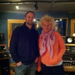 Celebrity Chef Anne Burrell & James Walsh at Threshold Recording Studios NYC