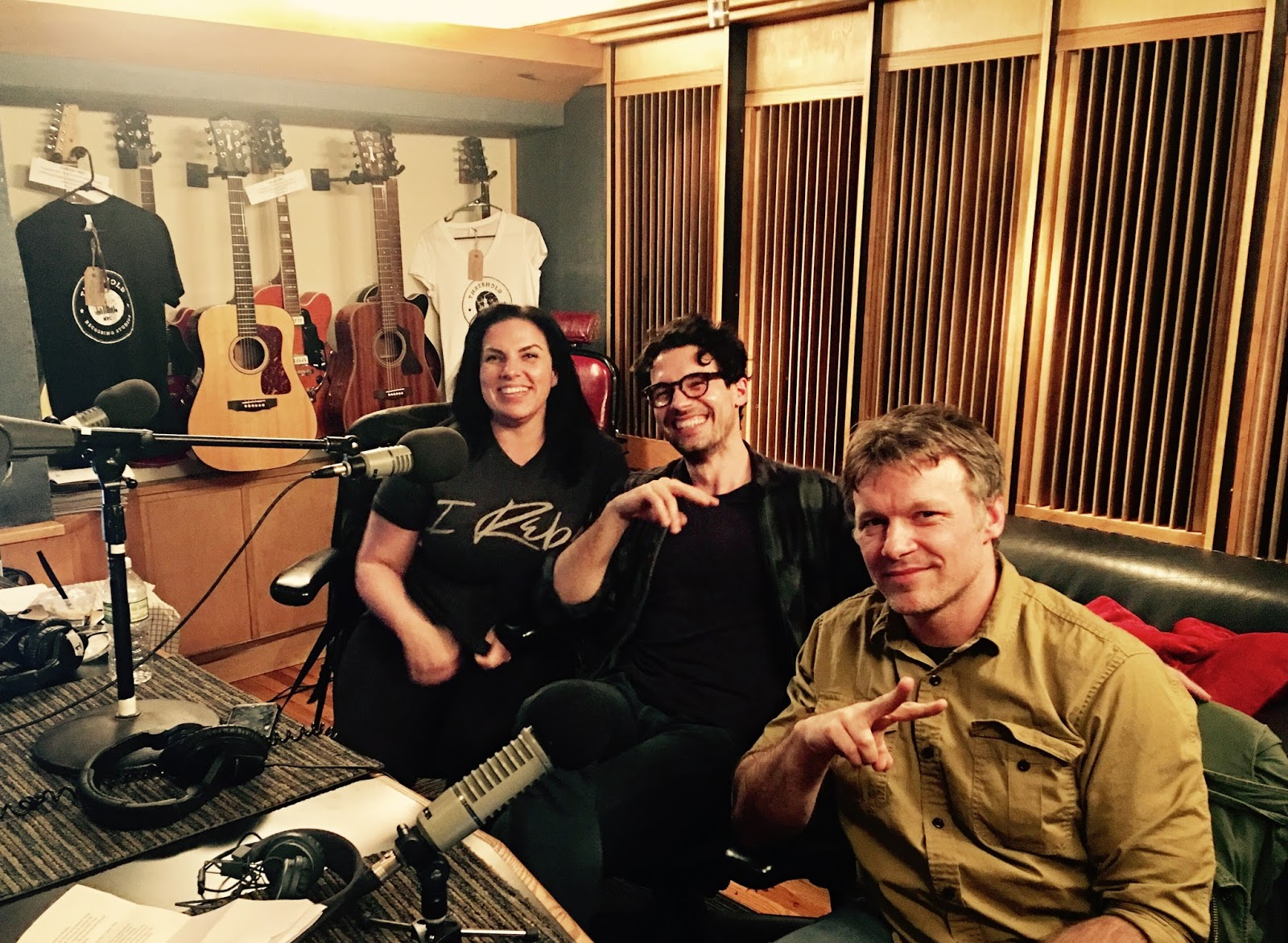SYFY Podcasts, Voice Overs & School of Rock at Threshold Recording Studios NYC