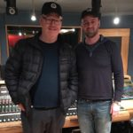 Jim Gaffigan recording voiceover for his Netflix special at Threshold Recording Studios NYC