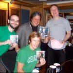Denis Leary at Threshold Recording Studios NYC
