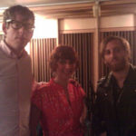 The Black Keys & Melena Ryzik at Threshold Recording Studios NYC