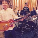 Brandon Niederauer & Raghav Mehrotra from the cast of Shcool of Rock at Threshold Recording Studios NYC
