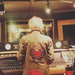 Cyndi Lauper at Threshold Recording Studios NYC