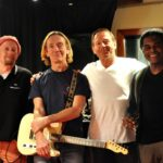 Jeff Kazee GE Smith Simon Kirke Wilbur Bascomb at Threshold Recording Studios NYC