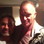Sting at Threshold Recording Studios NYC