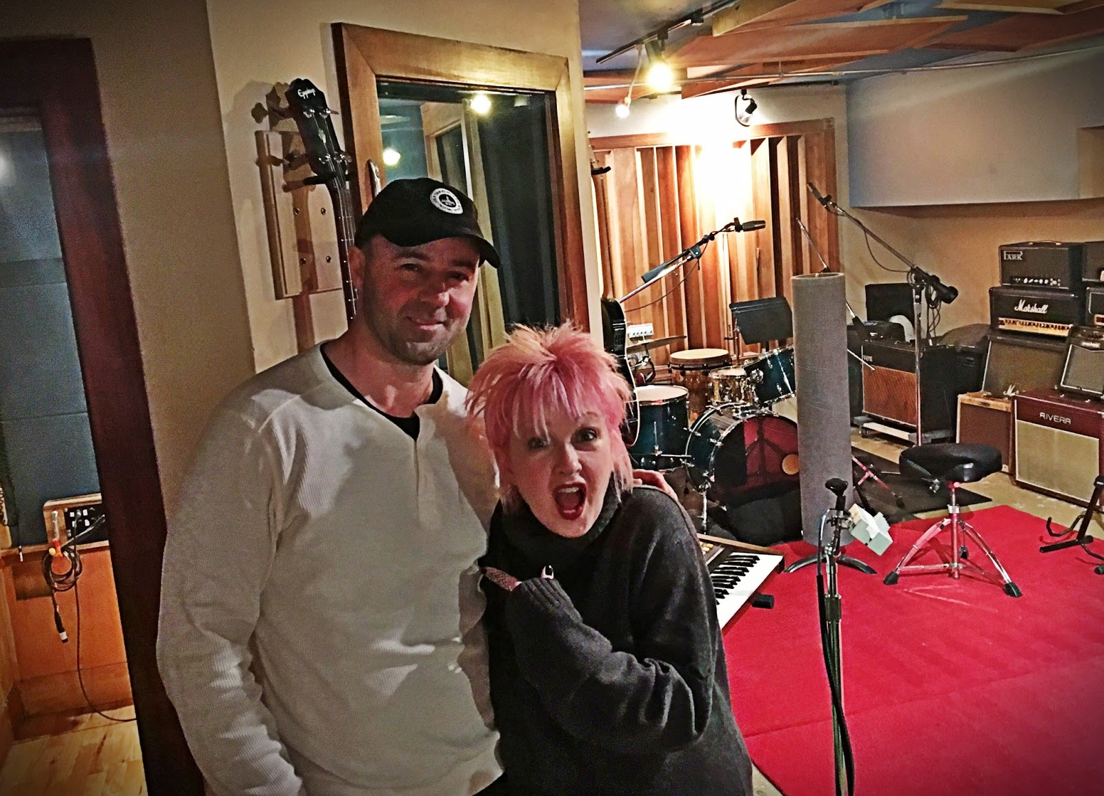 Threshold Recording Studios NYC: Something Rotten! Cyndi Lauper, Jim Gaffigan- oh my!