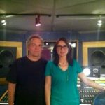 Patty Smyth & Keith Mack of Scandal at Threshold Recording Studios NYC