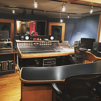 Threshold Recording Studios Control Room A