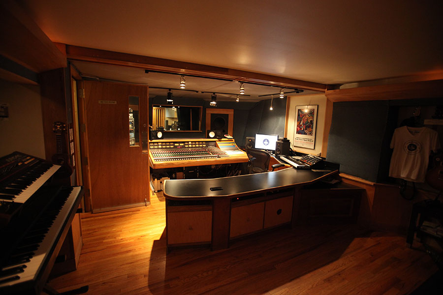 Threshold Recording Studios NYC Control Room Wide