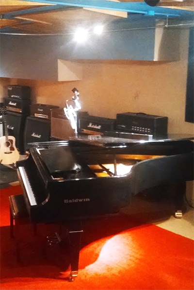 Baldwin Grand Piano Threshold Recording Studios NYC
