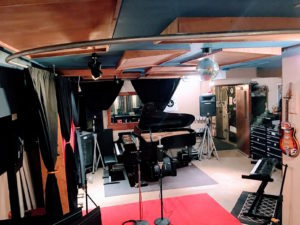 Piano in Live room rear perspective Threshold Recording Studios NYC