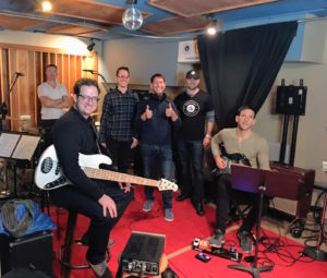 James Walsh Philip Pelkington Mark Ziegler Josh Priest Craig Magnano Matt Russell at Threshold Recording Studios NYC
