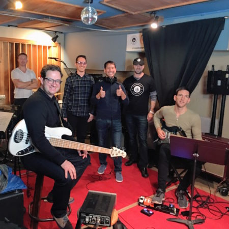 Philip Pelkington's Manhattan Showcase Project at Threshold Recording Studios NYC!