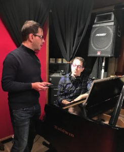 Philip Pelkington & Matt Russell at Threshold Recording Studios NYC